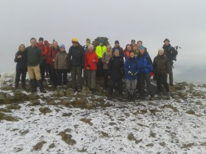 Group shot on Dale Head summit