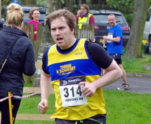 Brian at Fountains 10k