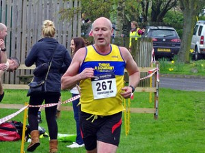 Paul at Fountains 10k
