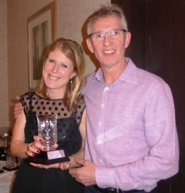 2nd lady - Charlotte Wilton with Rob Burn