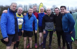 Men Ormesby after race